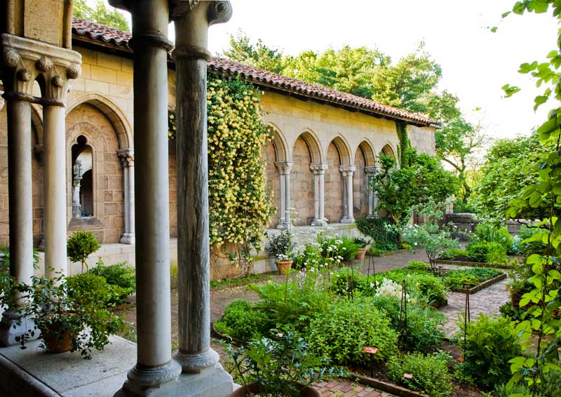 medieval garden inspiration from the cloisters oldhouse