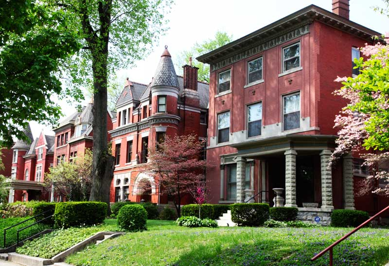 Old Louisville architecturally charming neighborhood Kentucky