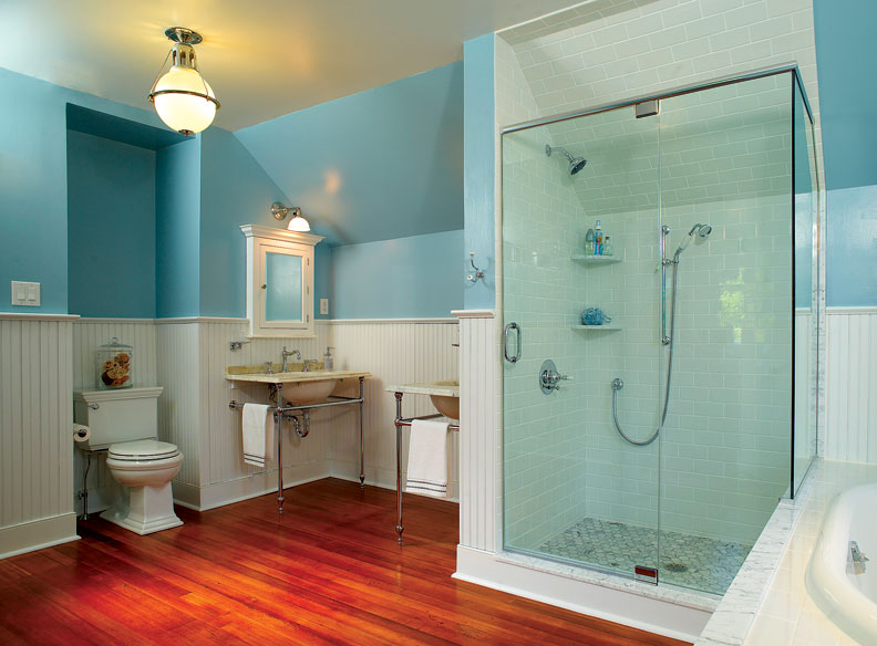 Refreshing a Colonial Revival Bath - Old-House Online ...