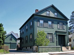 The Massachusetts house where Lizzie Borden allegedly murdered her father and stepmother in 1892 is said to be one of the most haunted homes in the U.S. Now a B&B and museum, the house regularly hosts paranormal investigators and is planning to launch a ghost webcam.