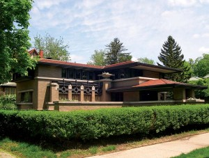 Some neighborhood tours highlight famous gems—the fall tour of Heritage Hill in Grand Rapids, Michigan, includes a stop at Frank Lloyd Wright's 1908 Meyer May House.