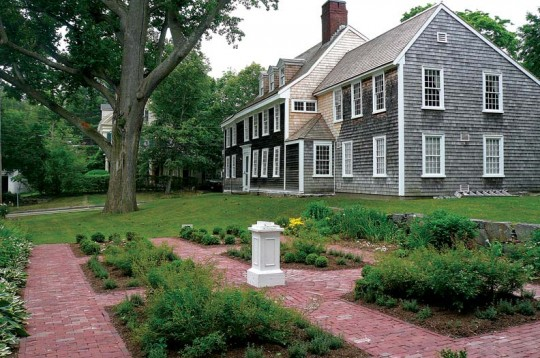 The Tour of Historic Hingham Homes in Hingham, Massachusetts, which started in 1924, is thought to be the longest-running house tour in the U.S., and highlights 17th-century buildings such as the circa-1680 Old Ordinary Tavern.