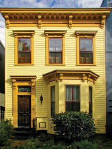 A middle-class row house in Washington, D.C., is typical of thousands built in post-Civil War America.