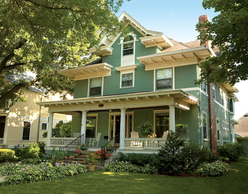 Historical Foursquare House Plan 31512gf: Uncovering A Historic Foursquare