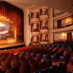 The 1894 Opera House has been restored to its original glory by dedicated preservationists.