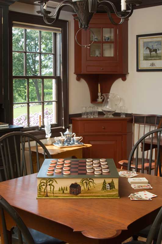 Life In A Reproduction Saltbox Old House Online Old
