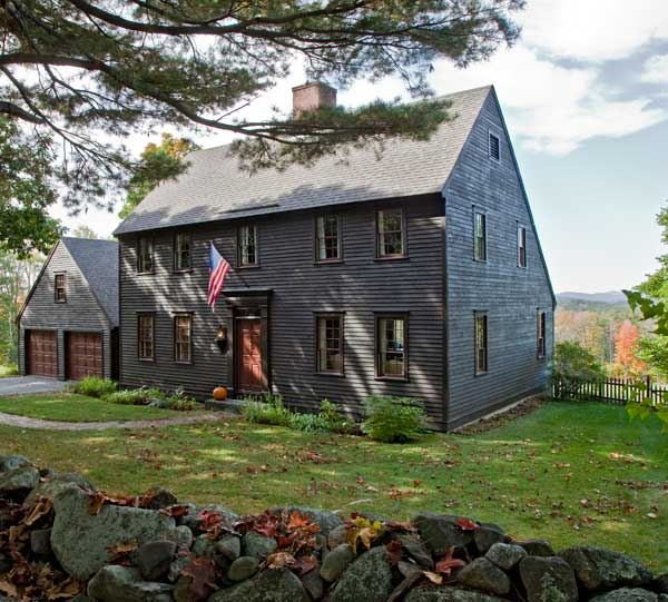 Salt box homes on pinterest saltbox houses new england for Saltbox design