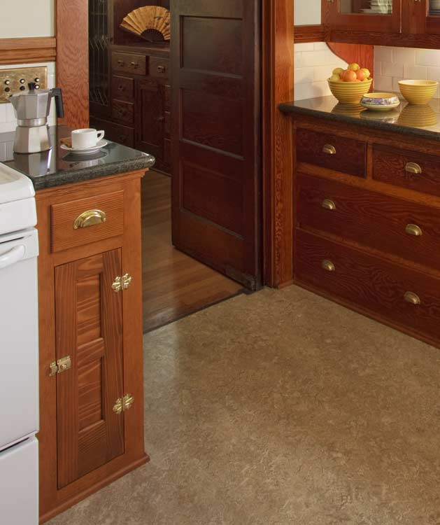 Ideas for kitchen floors linoleum tile more old for Kitchen linoleum tiles