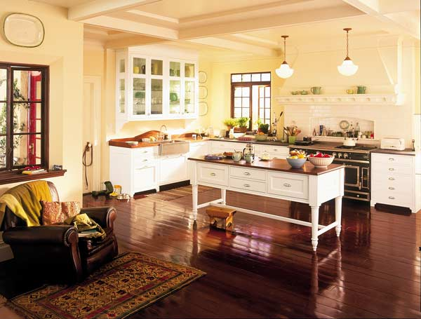 Ideas For Kitchen Floors Linoleum Tile Amp More Old House Online Old House Online