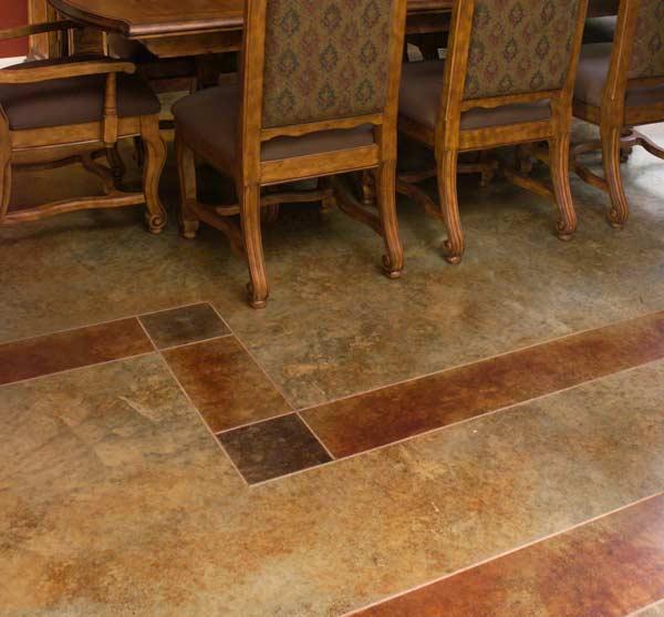 Ideas For Kitchen Floors Linoleum Tile More Old