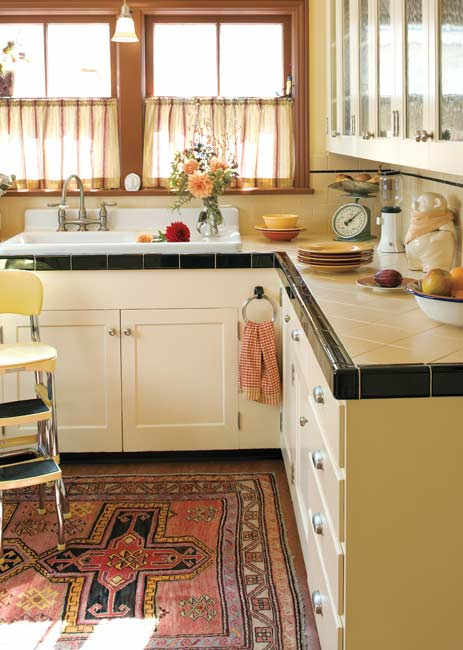 Today S Use Of Tile In Classic Kitchens Old House Online
