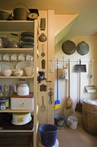 This pantry has a pleasant sense of order. Photo: Sandy Agrafiotis