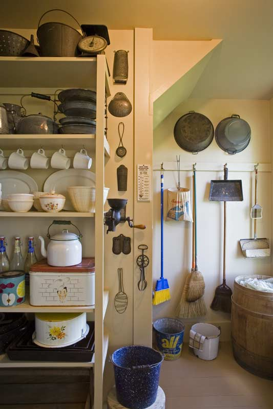 Pantry Design Ideas kitchen pantry pictures This Pantry Has A Pleasant Sense Of Order Photo Sandy Agrafiotis