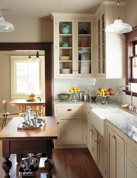 Timeless tips for remodeling a kitchen old house online for Remodeling old homes