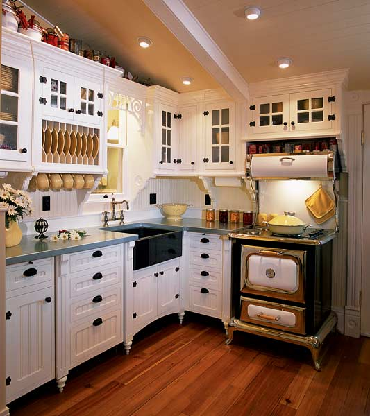Farmhouse Kitchen Cabinets: Reinventing The Victorian Kitchen