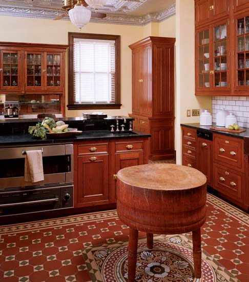 Reinventing The Victorian Kitchen