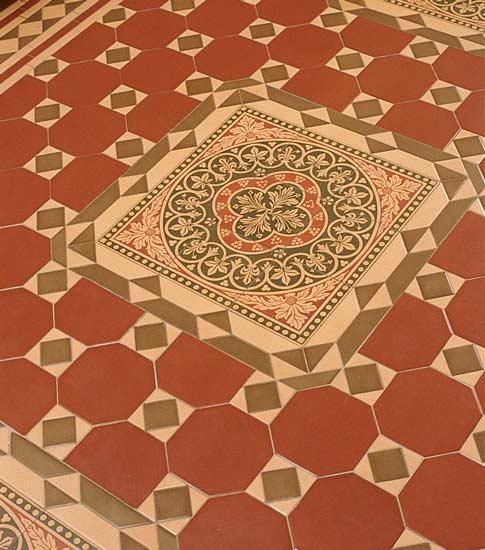 Victorian Kitchen Floor