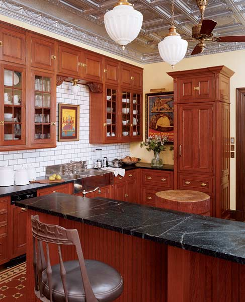 Victorian Kitchen: Reinventing The Victorian Kitchen