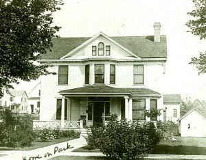 The Reinhold Zeglin House, circa 1909. (The front porch was converted to a sun/sleeping porch four years later.)