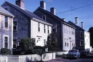 The beauty of Nantucket's historic neighborhoods derives in no small part from its gable-roofed, gray-clapboarded houses of the 18th and 19th centuries.