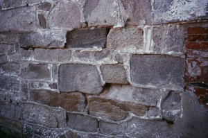 The results of too-hard mortar can be spalling of some soft stones such as rubble fieldstones.