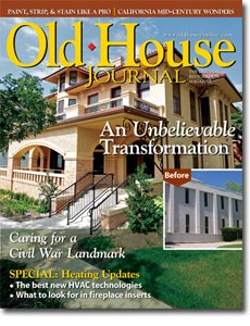 Old-House Journal December/January 2012