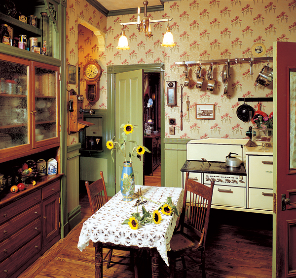 Add Charm With Kitchen Wallpaper Old House Online Old House Online