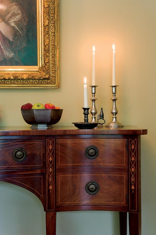 Choosing paint colors for a colonial revival home old - Federal style interior paint colors ...