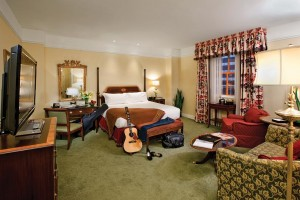 The latest renovation effort expanded guest rooms to a generous 500 to 650 square feet.