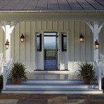 Entering the front door, one is struck by the views of the mountains and countryside seen through the home.