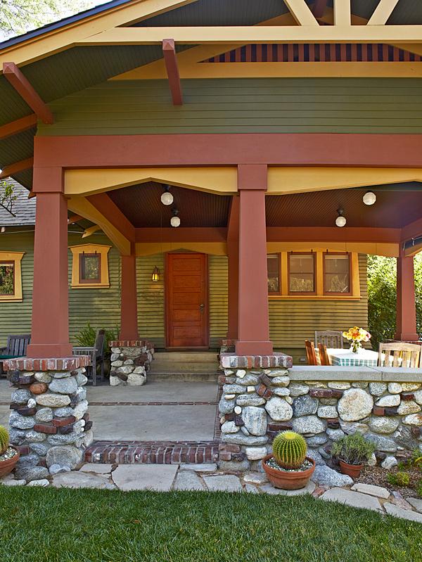 pasadena bungalow with original woodwork old house. Black Bedroom Furniture Sets. Home Design Ideas