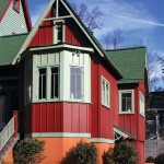 Architect Dean Brenneman relied on traditional Gothic massing to help the new addition blend with the old house.