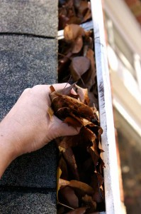 Regularly cleaning gutters will ensure that water is draining away from your house.