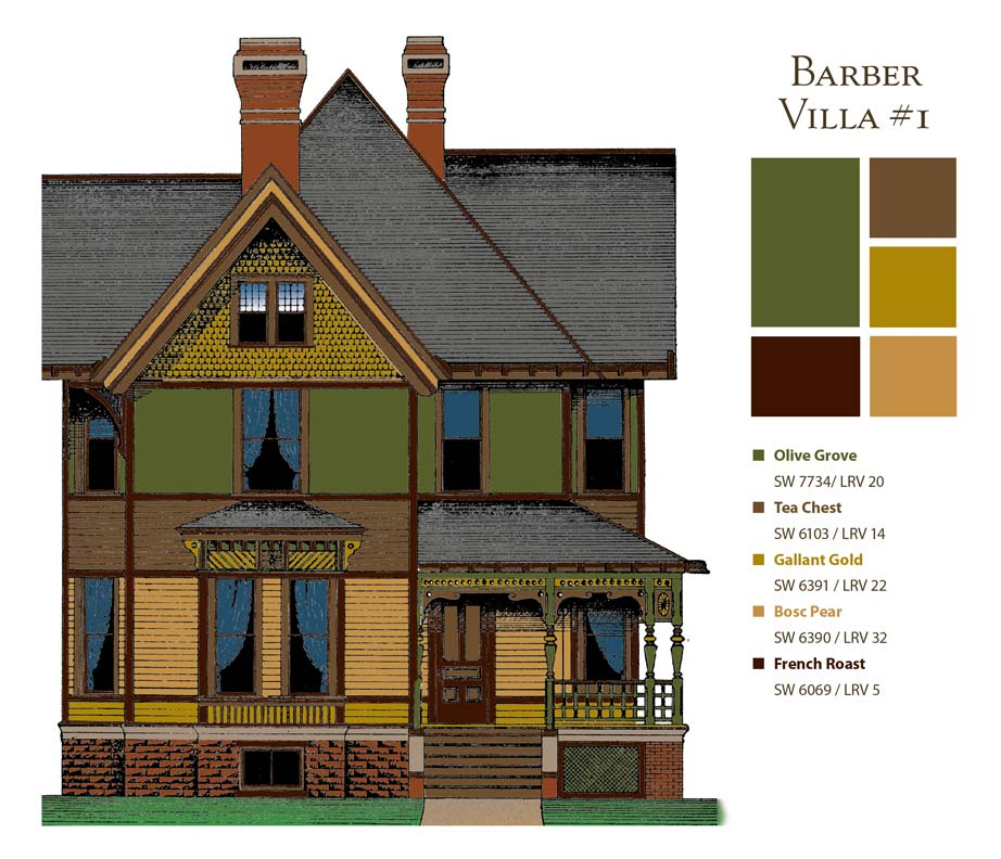 how to choose paint colors for victorian houses old house online. Black Bedroom Furniture Sets. Home Design Ideas