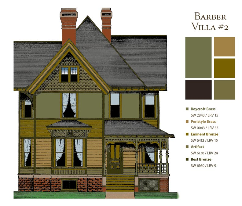 How To Choose Paint Colors For Victorian Houses Old House Online Old House Online