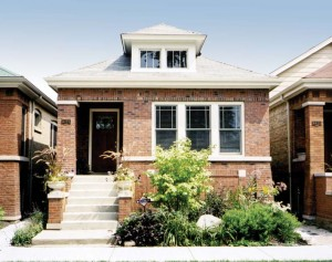 The Chicago Lawn neighborhood was the city's first Green Bungalow Model Block.