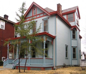 One of PHLF's Wilkinsburg homes, after the restoration.