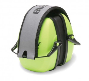 Earmuff-type protection is one of many ways to stave off hearing damage.