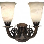 Sconces, like the double 'Brandt Leaf' from Urban Archaeology, promote symmetry.