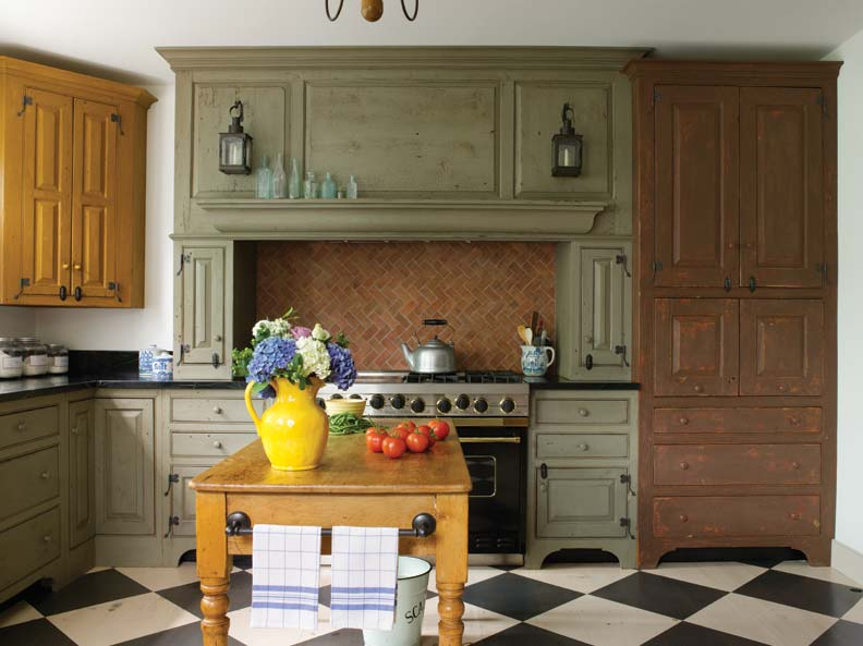 A New Colonial Kitchen - Old-House Online - Old-House Online