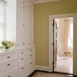 A new dressing room between the master bedroom and bathroom offers ample storage space.