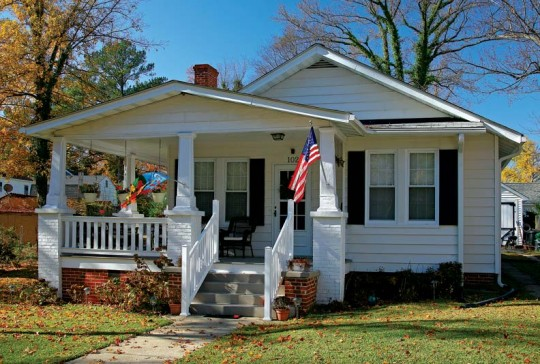 The Walton is similar to numerous bungalow designs of its era.