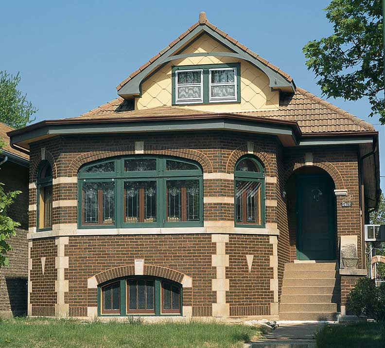 Clay tile roofs 101 old house online old house online for Bungalow house chicago