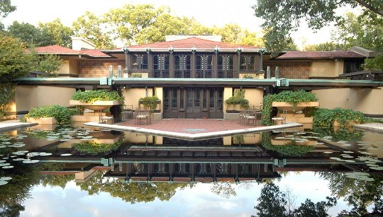 Given their history, clay tile roofs may seem an awkward fit with modern architecture, but Frank Lloyd Wright used clay tile roofs to great success on many of his now iconic house designs, including the Robie House, Wingspread, and the Coonley Estate (pictured).