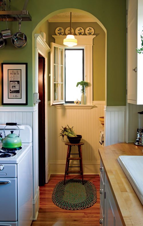 Sunny 1940s Inspired Kitchen Old House Online Old