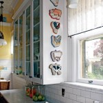Anna's collection of animal-themed molds creates a focal point beside the sink.