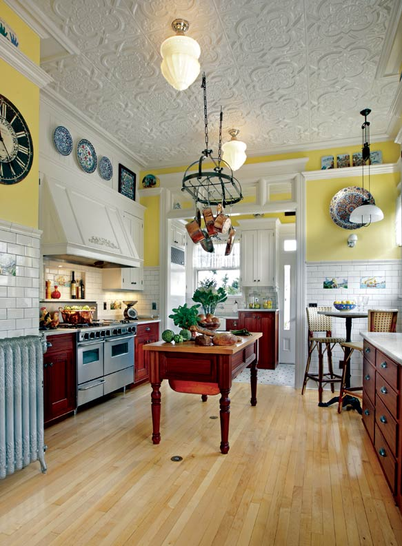 French bakery inspired kitchen old house online old for Classic house bakery
