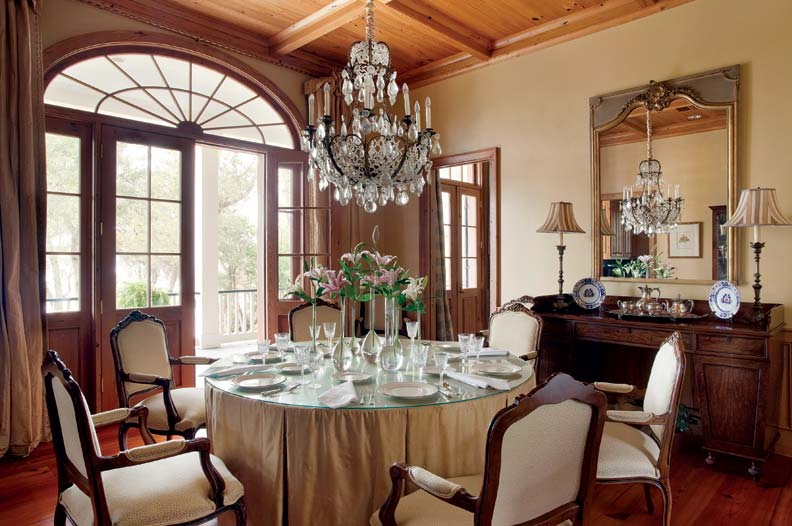 colonial dining rooms | French Colonial Style for a New House - Old-House Online ...