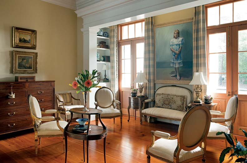 French colonial style for a new house old house online for Colonial house interior design