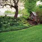 Pat was an avid gardener who kept the grounds lovely all year long.